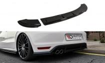 Maxton Design Spoiler zadního nárazníku VW Polo Mk5 GTI Facelift - texturovaný plast