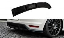 Maxton Design Spoiler zadního nárazníku s příčkami VW Polo Mk5 GTI Facelift - texturovaný plast
