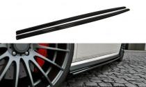Maxton Design Prahové lišty VW Polo Mk5 GTI Facelift - texturovaný plast