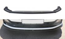 Maxton Design Spoiler předního nárazníku VW Polo Mk6 GTI V.1 - texturovaný plast