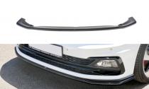 Maxton Design Spoiler předního nárazníku VW Polo Mk6 GTI V.2 - texturovaný plast