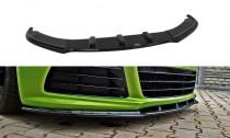 Maxton Design Spoiler předního nárazníku VW Scirocco R V.1 - texturovaný plast