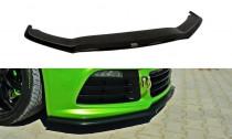 Maxton Design Spoiler předního nárazníku VW Scirocco R V.2 - texturovaný plast