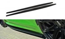 Maxton Design Prahové lišty VW Scirocco R - texturovaný plast