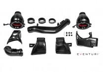 Eventuri Karbonové sportovní sání s hliníkovými přívody vzduchu pro BMW M3 M4 F80 F82 F83 3,0 Bi-Turbo R6