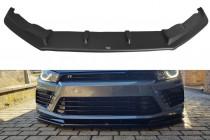 Maxton Design Spoiler předního nárazníku VW Scirocco R Facelift V.1 - texturovaný plast