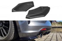 Maxton Design Boční lišty zadního nárazníku VW Scirocco R Facelift - texturovaný plast