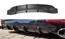 Maxton Design Spoiler zadního nárazníku VW Scirocco R Facelift - texturovaný plast
