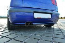 Maxton Design Boční lišty zadního nárazníku Seat Ibiza Mk2 Cupra Facelift - texturovaný plast