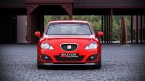 Maxton Design Spoiler předního nárazníku Seat Leon Mk2 Facelift - texturovaný plast