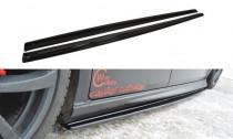 Maxton Design Prahové lišty Seat Leon Mk2 - texturovaný plast