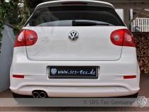 Zadní nástavec nárazníku G5-R32 Style VW Golf 5 SRS-Tec - 1 koncovka