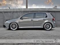 Prahové nástavce G5-R32 VW Golf 5 SRS-Tec - Hatchback