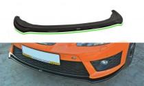 Maxton Design Spoiler předního nárazníku Seat Leon Mk2 Cupra Facelift V.2 - texturovaný plast