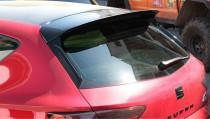 Maxton Design Nástavec střešního spoileru Seat Leon Mk3 Cupra Facelift - texturovaný plast