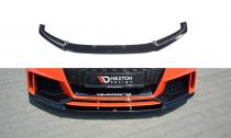Maxton Design Spoiler předního nárazníku Audi TT RS (8S) V.2 - texturovaný plast