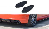 Maxton Design Boční lišty zadního nárazníku Audi TT RS (8S) - texturovaný plast