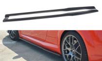 Maxton Design Prahové lišty Audi TT RS (8S) - texturovaný plast