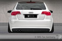 Spoiler zadního nárazníku GT AUDI A3 Sportback SRS-Tec