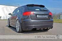 Spoiler zadního nárazníku RS AUDI A3 Sportback SRS-Tec