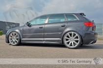 Prahové nástavce GT AUDI A3 Sportback SRS-Tec