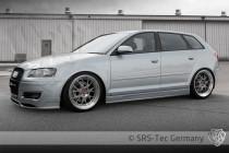Prahové nástavce RS AUDI A3 Sportback SRS-Tec