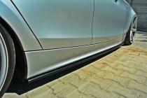 Maxton Design Prahové lišty BMW 1 E87 - texturovaný plast