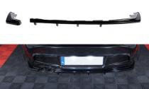 Maxton Design Spoiler zadního nárazníku s příčkami BMW 1 E87 Facelift - texturovaný plast