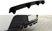 Maxton Design Spoiler zadního nárazníku s příčkami BMW 1 F20/F21 - texturovaný plast