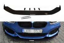 Maxton Design Spoiler předního nárazníku Racing BMW 1 F20/F21 Facelift V.2