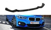 Maxton Design Spoiler předního nárazníku BMW 1 F20/F21 Facelift V.1 - texturovaný plast