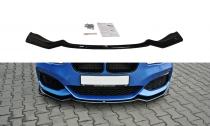 Maxton Design Spoiler předního nárazníku BMW 1 F20/F21 Facelift V.2 - texturovaný plast