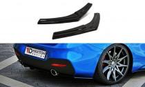 Maxton Design Boční lišty zadního nárazníku BMW 1 F20/F21 Facelift V.1 - texturovaný plast