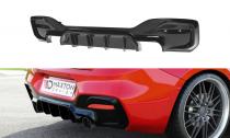 Maxton Design Spoiler zadního nárazníku BMW 1 F20/F21 Facelift - texturovaný plast