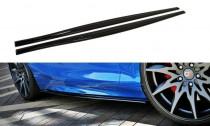 Maxton Design Prahové lišty BMW 1 F20/F21 Facelift V.1 - texturovaný plast