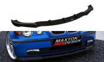 Maxton Design Spoiler předního nárazníku BMW 3 E46 Compact - texturovaný plast