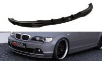 Maxton Design Spoiler předního nárazníku BMW 3 E46 Coupe Facelift - texturovaný plast