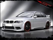 Maxton Design Prahové lišty Generation V BMW 3 E46 Coupe/Cabrio