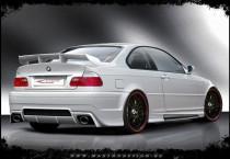 Maxton Design Spoiler víka kufru Generation V BMW 3 E46 Sedan/Coupe/Cabrio