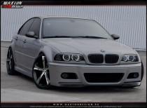 Maxton Design Přední nárazník Vzhled M3 BMW 3 E46 Sedan