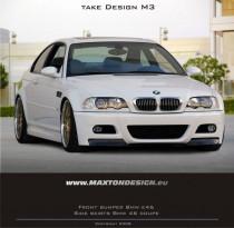 Maxton Design Přední nárazník Vzhled M3 BMW 3 E46 Coupe/Cabrio