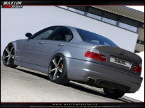Maxton Design Zadní nárazník Vzhled M3 BMW 3 E46 Sedan