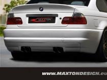 Maxton Design Zadní nárazník Vzhled M3 BMW 3 E46 Sedan - M3 koncovky