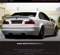 Maxton Design Zadní nárazník Vzhled M3 BMW 3 E46 Coupe/Cabrio - M3 koncovky