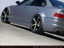 Maxton Design Prahové lišty Vzhled M3 BMW 3 E46 Sedan