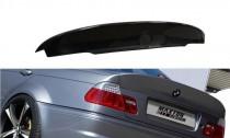 Maxton Design Spoiler víka kufru Vzhled M3 CSL BMW 3 E46 Sedan