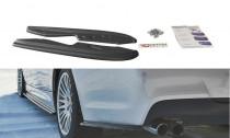 Maxton Design Boční lišty zadního nárazníku BMW 3 E90 M-Paket - texturovaný plast