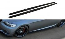 Maxton Design Prahové lišty BMW 3 E92 M-Paket - texturovaný plast