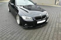 Maxton Design Spoiler předního nárazníku BMW 3 E92 Facelift M-Paket V.1 - texturovaný plast