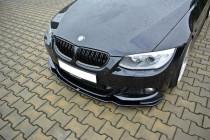 Maxton Design Spoiler předního nárazníku BMW 3 E92 Facelift M-Paket V.2 - texturovaný plast